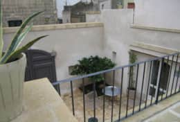Casa del Palmarancio - courtyard from the terrace - Gagliano del Capo - Salento