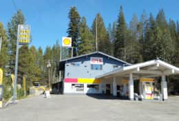 Gas Station at Kingvale Exit