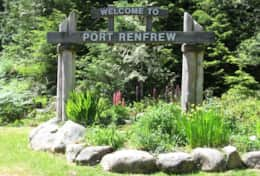 Welcome to Port Renfrew