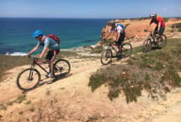 Guided Mountainbike Tours along the beautiful Portuguese West Coast