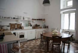 Palazzotto - fully equipped kitchen - Lucugnano di Tricase - Salento