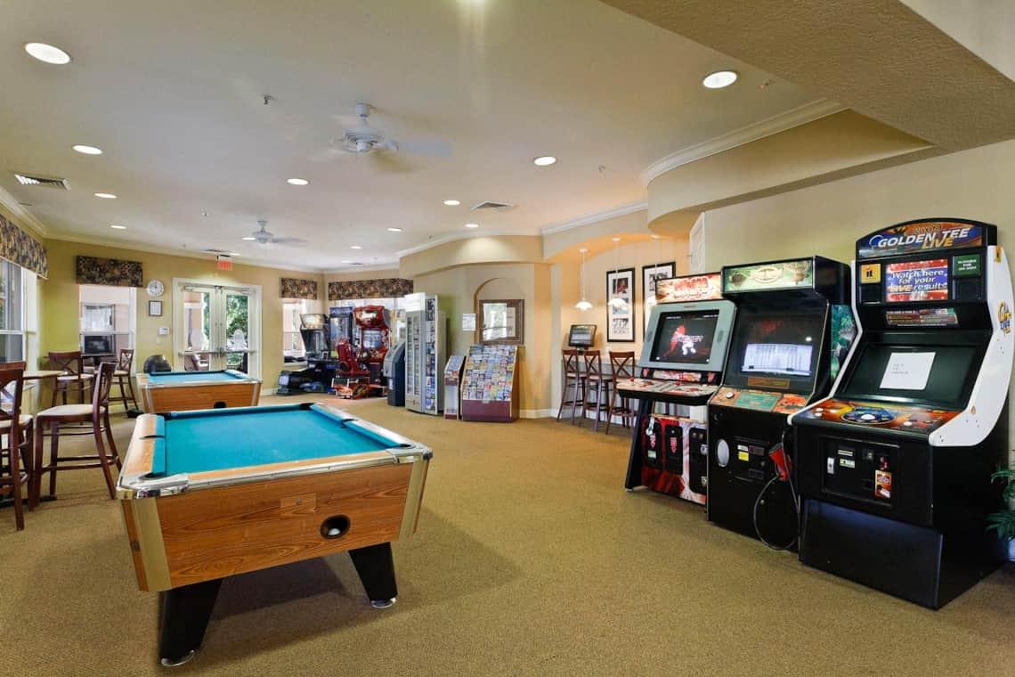 Games Room At Windsor Hills